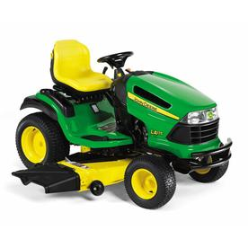 John Deere 26 HP V-Twin Hydrostatic 54-in Riding Lawn Mower with Briggs &amp; Stratton Engine