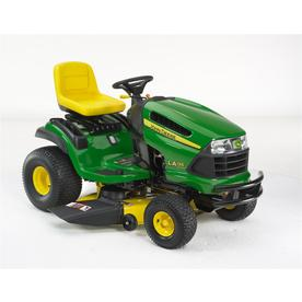 John Deere 22 HP V-Twin Hydrostatic 42-in Riding Lawn Mower with Briggs &amp; Stratton Engine