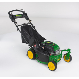 John Deere 8.75 ft-lbs 21-in Self-Propelled Gas Push Lawn Mower