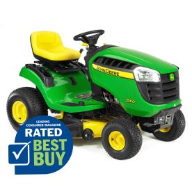 John Deere D110 19.5 HP Hydrostatic 42-in Riding Lawn Mower with Briggs & Stratton Engine