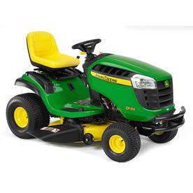 John Deere D130 22-HP V-Twin Hydrostatic 42-in Riding Lawn Mower