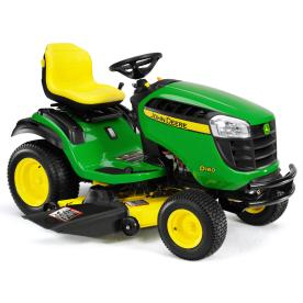 John Deere D160 24 HP V-Twin Hydrostatic 48-in Riding Lawn Mower with Briggs & Stratton Engine