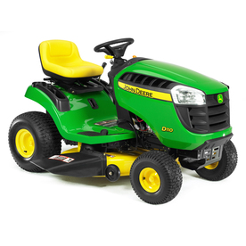 John Deere D110 19.5 HP Hydrostatic 42-in Riding Lawn Mower with Briggs &amp; Stratton Engine (CARB)