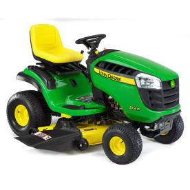 John Deere D140 22 HP V-Twin Hydrostatic 48-in Riding Lawn Mower with Briggs &amp; Stratton Engine (CARB)