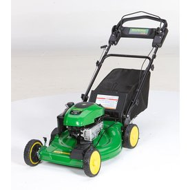 John Deere JS28 190cc 22-in Self-Propelled Front Wheel Drive 3-in-1 Gas Push Lawn Mower with Briggs & Stratton Engine and Mulching Capability