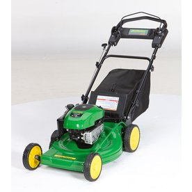 John Deere JS38 190cc 22-in Self-Propelled Rear Wheel Drive 3-in-1 Gas Push Lawn Mower with Briggs & Stratton Engine and Mulching Capability