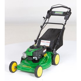 John Deere JS48 190cc 22-in Key Start Self-Propelled Rear Wheel Drive 3-in-1 Gas Push Lawn Mower with Briggs & Stratton Engine and Mulching Capability