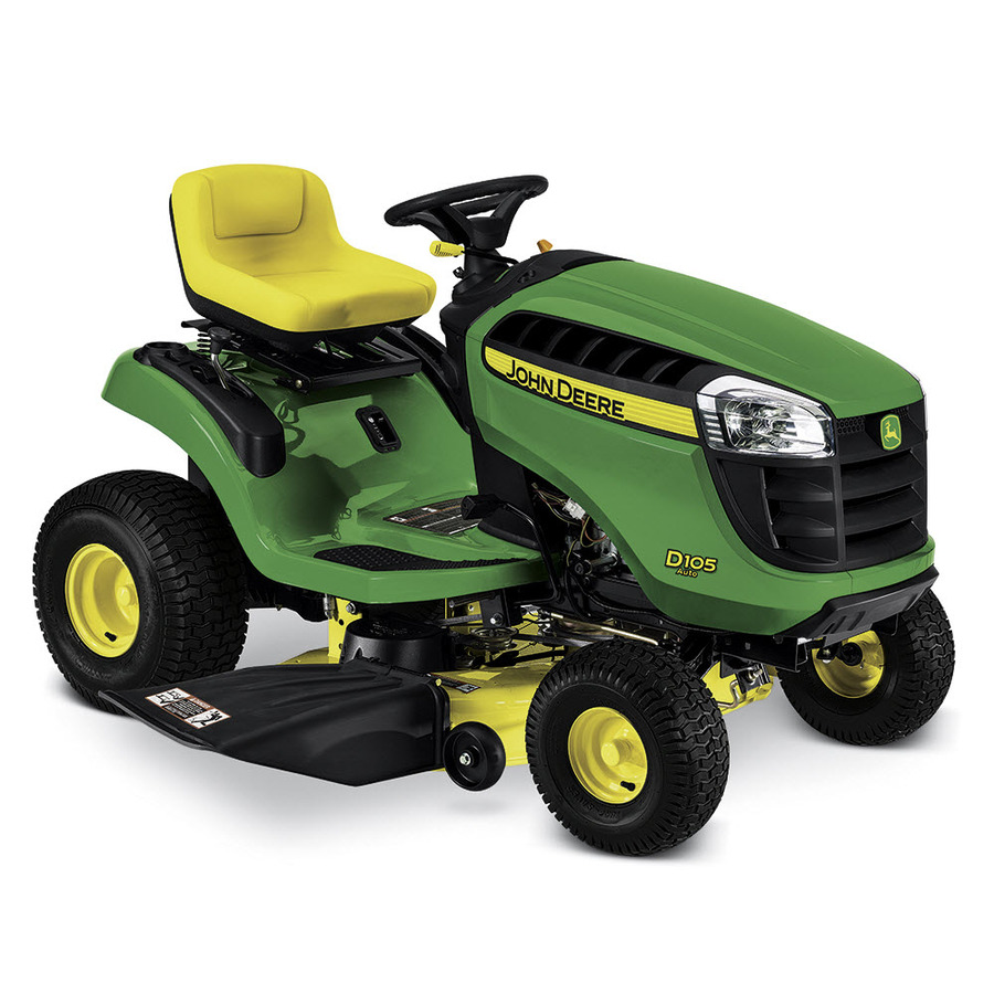 Shop John Deere D105 Automatic 42 In Riding Lawn Mower