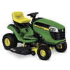 John Deere D105 Automatic 42-in Riding Lawn Mower with Briggs & Stratton Engine and Mulching Capable