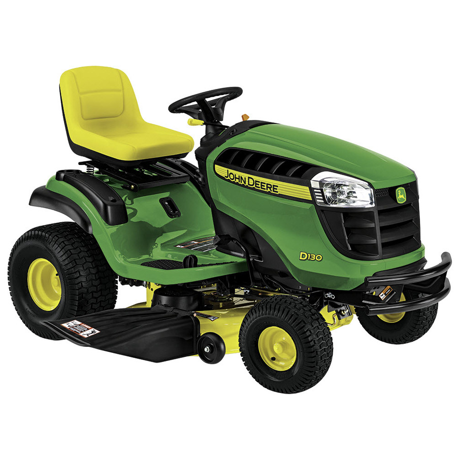 shop john deere d130 v twin hydrostatic 42 in riding lawn mower with briggs stratton engine. Black Bedroom Furniture Sets. Home Design Ideas