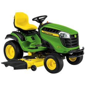 John Deere D140 22-HP V-Twin Hydrostatic 48-in Riding Lawn Mower