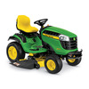 John Deere D160 25-HP V-Twin Hydrostatic 48-in Riding Lawn Mower with Mulching Capability