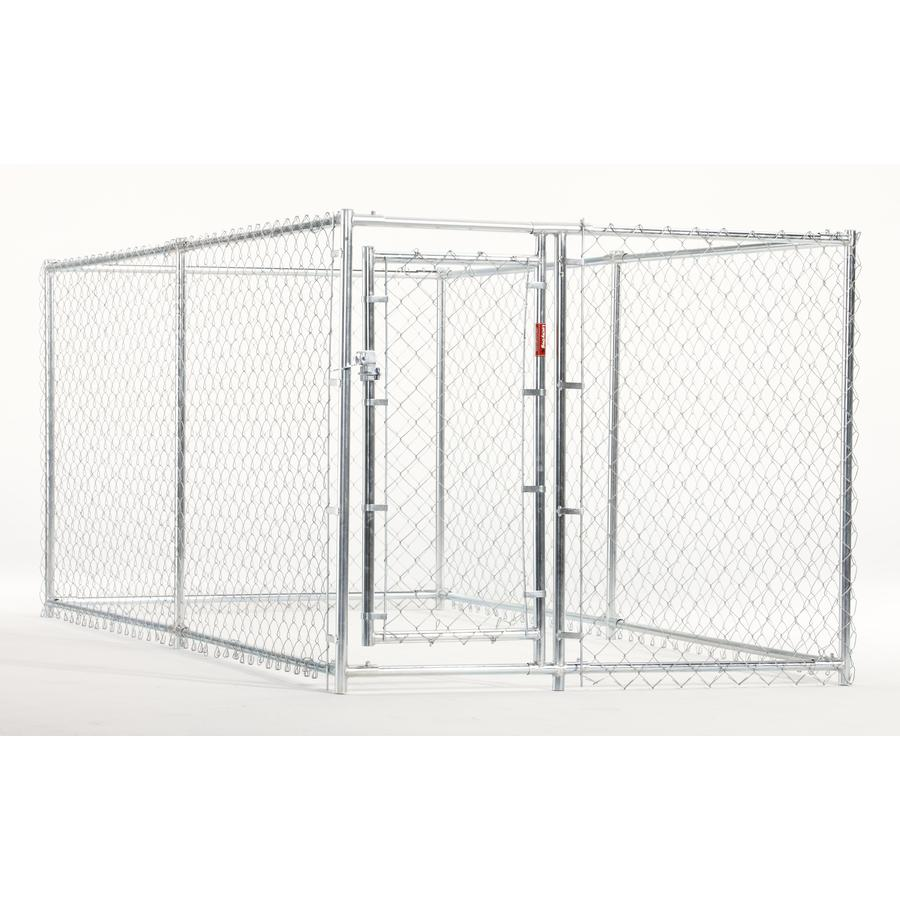 Shop 10-ft x 5-ft x 4-ft Outdoor Dog Kennel Box Kit at Lowes.com
