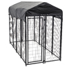 8-ft x 4-ft x 6-ft Outdoor Dog Kennel Box Kit