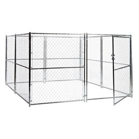 Lucky Dog 10-ft x 10-ft x 6-ft Outdoor Dog Kennel Panels