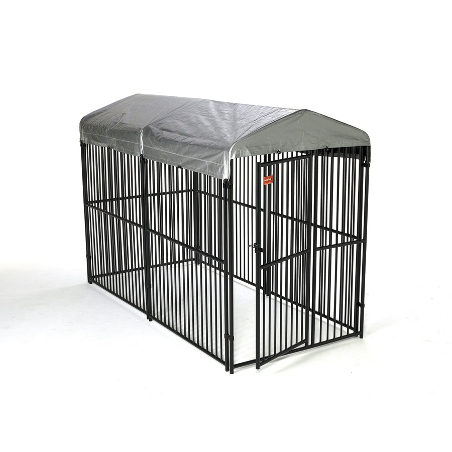 shop lucky dog 5 ft x 6 ft outdoor dog kennel panels at