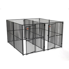 Lucky Dog 10-ft x 5-ft x 6-ft Outdoor Dog Kennel Panels