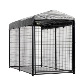 AKC 8-ft x 4-ft x 6-ft Outdoor Dog Kennel Preassembled Kit