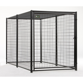 AKC 10-ft x 5-ft x 6-ft Outdoor Dog Kennel Panels