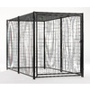 AKC 5x10 Probreeder Welded Wire Kennel with Cover