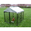 AKC 8-ft x 8-ft x 6-ft Outdoor Dog Kennel Preassembled Kit
