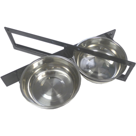 Lucky Dog Rotating 2-Bowl System