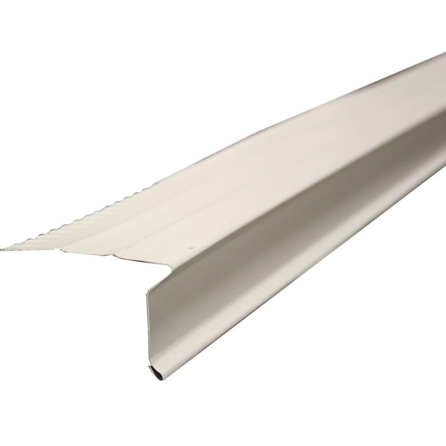 Steel Drip Edge : Shop union corrugating in ft drip edge at lowes