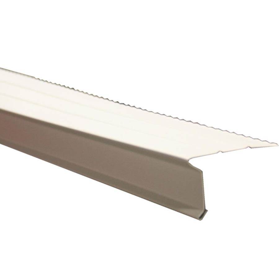 Shop Union Corrugating Aluminum Drip Edge At Lowes Com