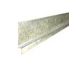 Union Corrugating 2-in x 0.38-in x 120-in Galvanized Steel Z Flashing