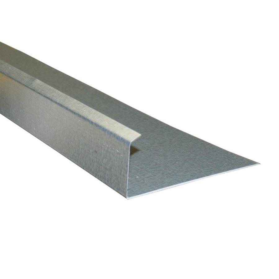 Metal At Lowe S : Shop union corrugating galvanized steel drip edge at lowes
