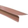 Union Corrugating 1.5-in x 10-ft Aluminum Drip Edge