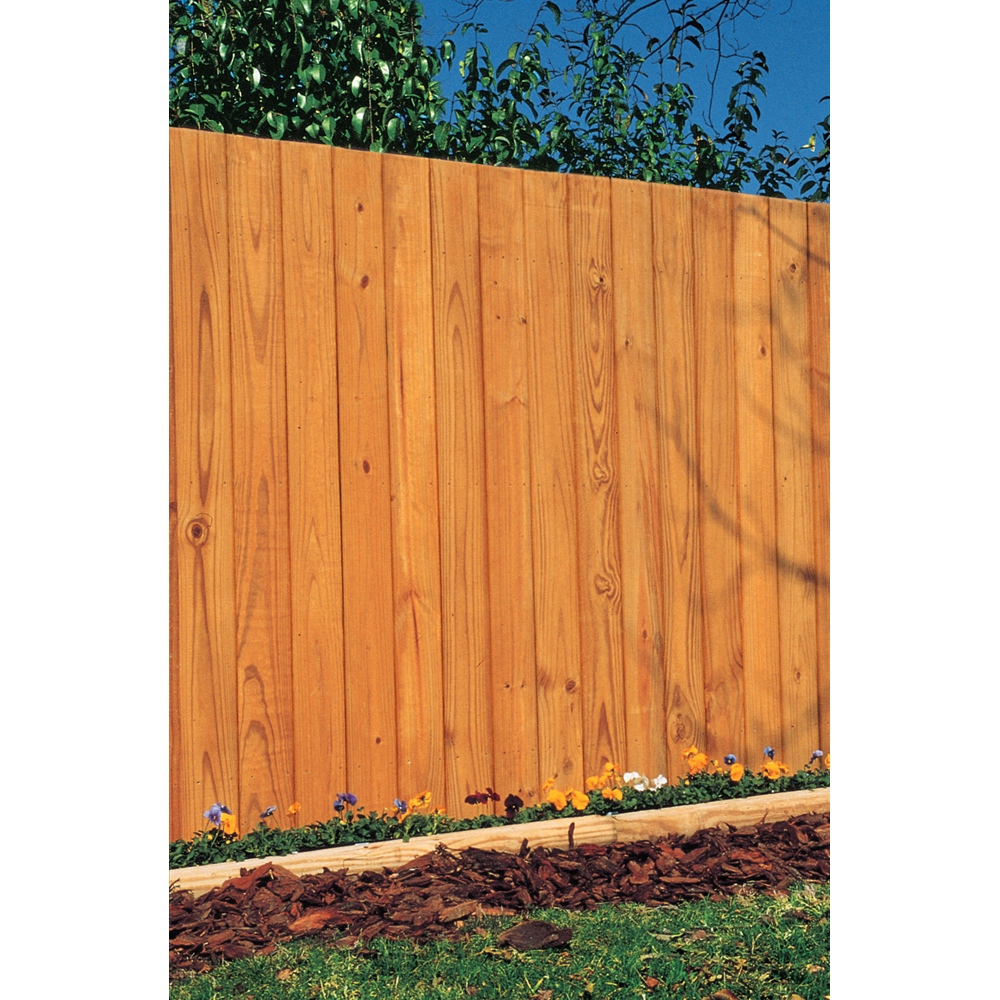 Shop Wood Fencing 1 X 6 X 6 39 RightWood FlatTop Prefinished Fe