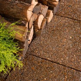 Brown River Rock Concrete Patio Stone (Common: 18-in x 18-in; Actual: 17.5-in x 17.5-in)