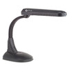 "OttLite 17-1/2"" Adjustable Black Desk Lamp"