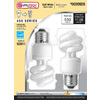 Utilitech 2-Pack 9-Watt (40W Equivalent) 2,700K Spiral Soft White Outdoor CFL Bulb ENERGY STAR