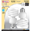 Utilitech 2-Pack 18-Watt (75W) Spiral Medium Base Soft White (2700K) Outdoor CFL Bulbs ENERGY STAR