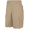 Red Kap Men's 42 Khaki Twill Cargo Work Shorts