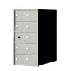 Florence 1400 Series 14.4-in x 28-in Metal Anodized Aluminum Lockable Recessed Mount Cluster Mailbox