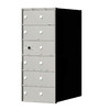 Florence 1400 Series 14.4-in x 33.4-in Metal Anodized Aluminum Lockable Recessed Mount Cluster Mailbox