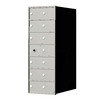 Florence 1400 Series 14.4-in x 38.8-in Metal Anodized Aluminum Lockable Recessed Mount Cluster Mailbox