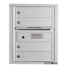 Florence 17-1/2-in x 21-1/2-in Metal Postal Grey Lockable Cluster Mailbox