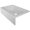 CorStone Primrose Single-Basin Apron front/Farmhouse Acrylic Kitchen Sink