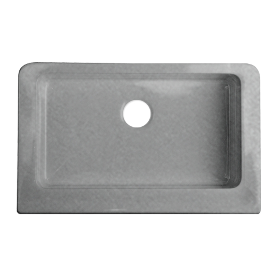 Farmhouse Sink Lowes : ... Single-Basin Acrylic Apron Front/Farmhouse Kitchen Sink at Lowes.com
