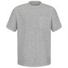 Red Kap XXX-Large Gray Tagless T-Shirt