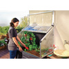 Palram 3.87-ft L x 2.05-ft W x 4.8-ft H Metal Polycarbonate Greenhouse