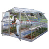 Palram 12-ft L x 12.07-ft W x 8.59-ft H Metal Polycarbonate Greenhouse