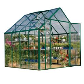 Palram 8.33-ft L x 8.1-ft W x 8.54-ft H Polycarbonate Greenhouse