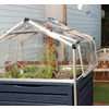 Palram 3.9-ft L x 3.9-ft W x 4.8-ft H Metal Polycarbonate Greenhouse