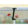 Palram 3.4-ft L x 1.75-ft W x 3.125-ft H Metal Polycarbonate Greenhouse