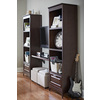 allen + roth 48-in x 16-in Java Wood Closet Shelf Kit